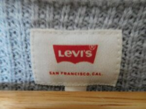 セーターのタグへの商標登録表示